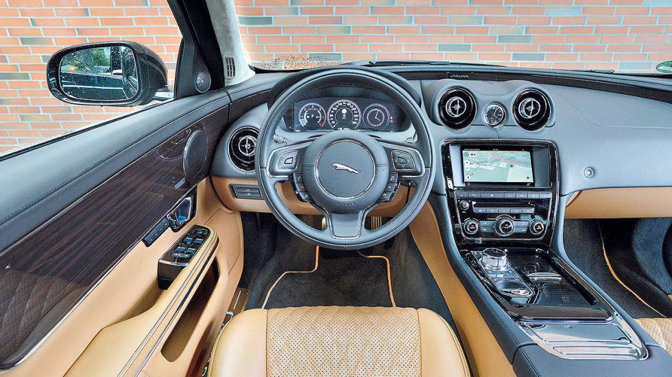 14 Comparativa: Volvo S90/Jaguar XJ/Maserati Quattroporte