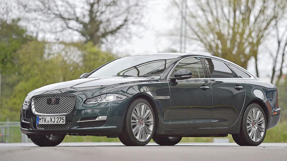 15 Comparativa: Volvo S90/Jaguar XJ/Maserati Quattroporte