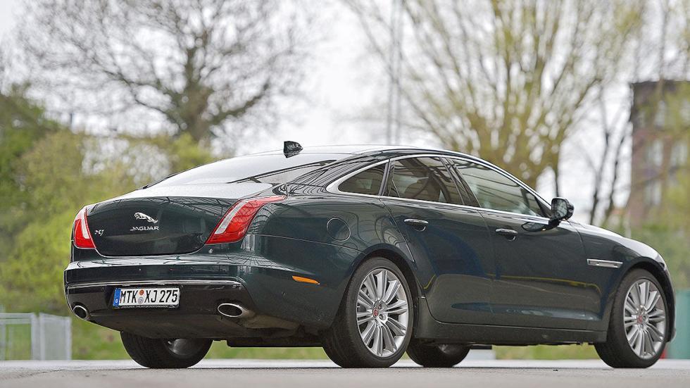 17 Comparativa: Volvo S90/Jaguar XJ/Maserati Quattroporte