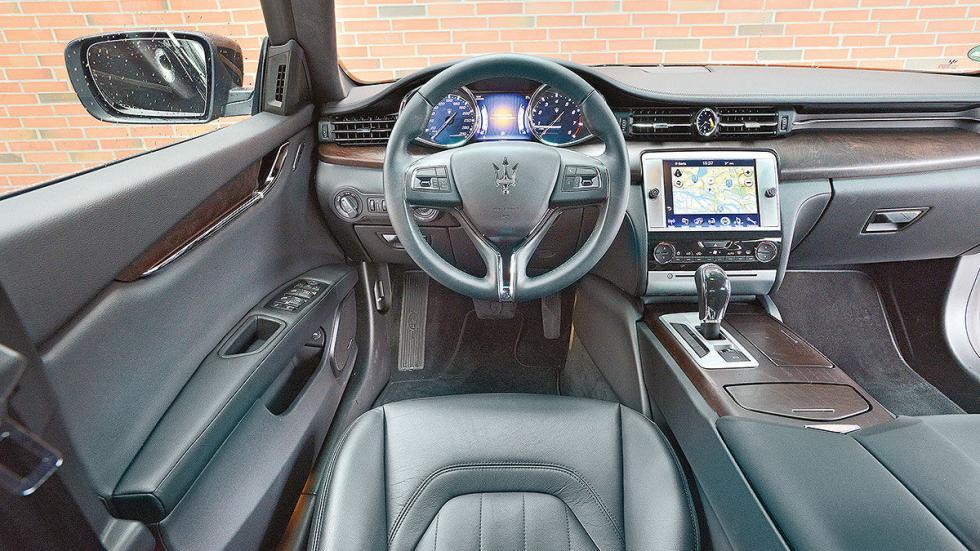 20 Comparativa: Volvo S90/Jaguar XJ/Maserati Quattroporte