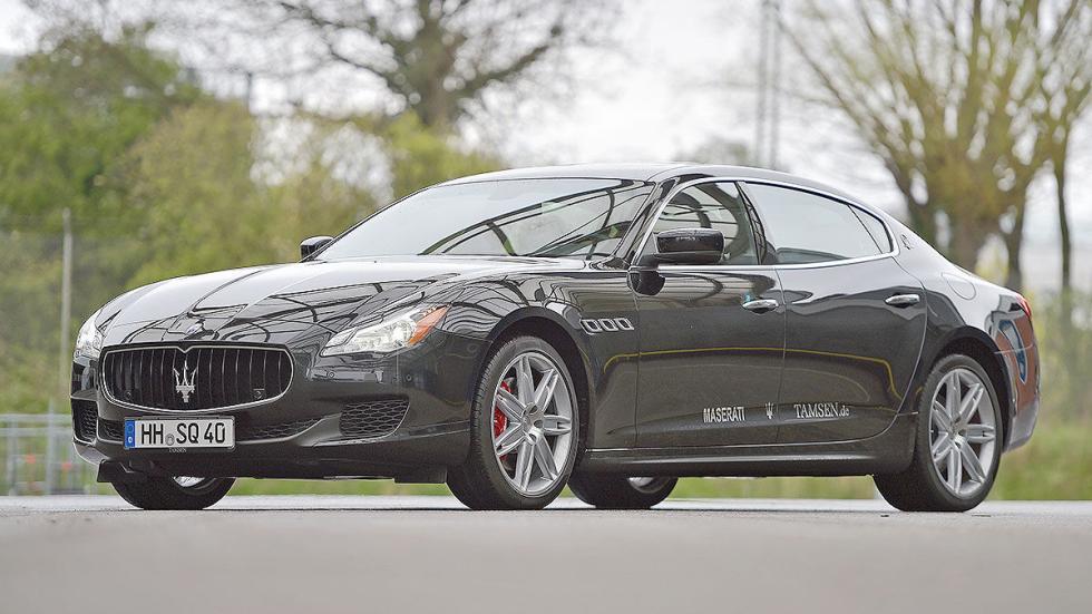 21 Comparativa: Volvo S90/Jaguar XJ/Maserati Quattroporte
