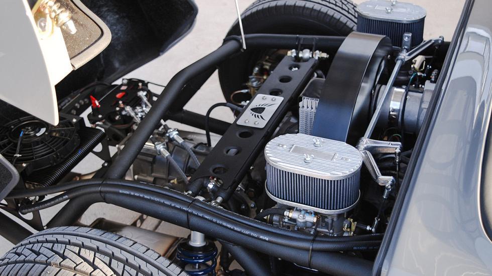 Una réplica del Porsche 550 Spyder, en fotos