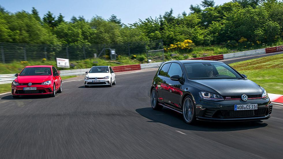 VW Golf GTI Clubsport S circuito