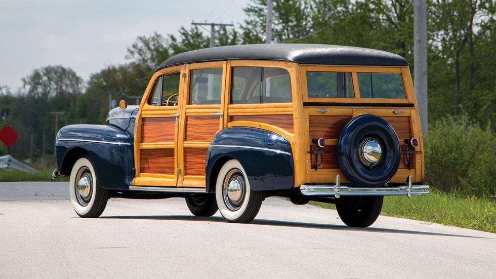 A subasta clásicos wagon americanos, en fotos
