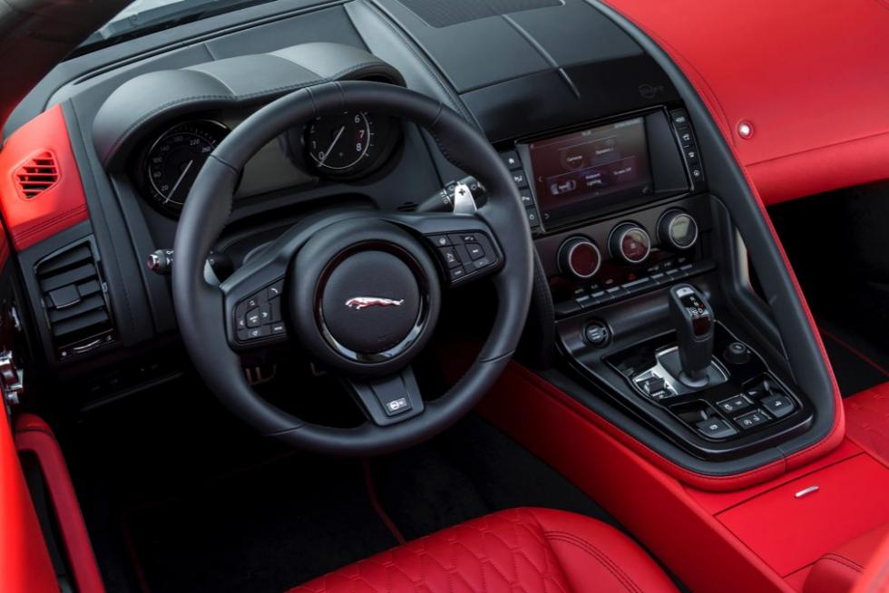 Jaguar F-Ttype SVR Convertible 2016 interior