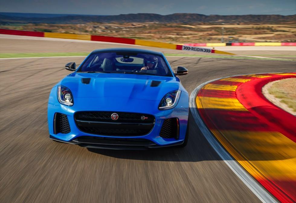 Jaguar F-Ttype SVR coupé 2016 deportivo