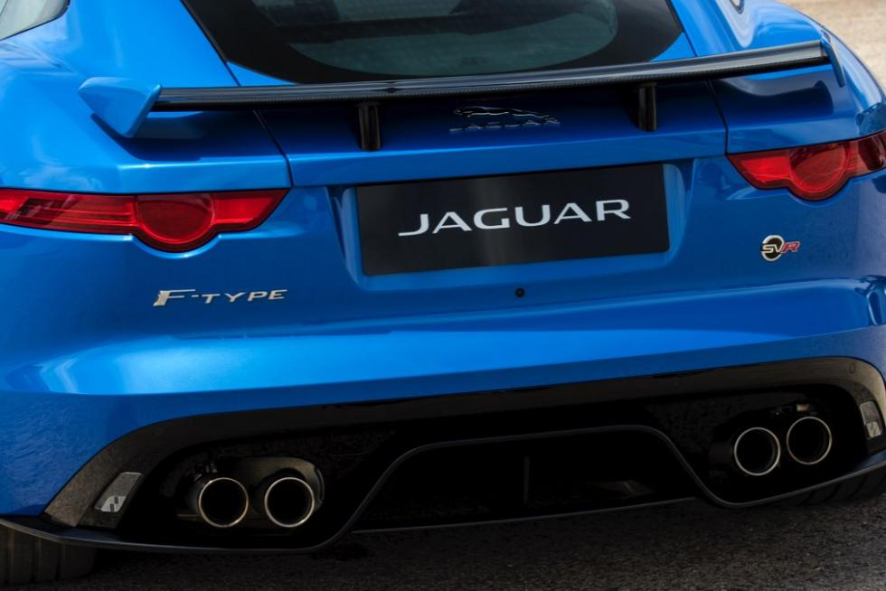 Jaguar F-Ttype SVR coupé 2016 escape