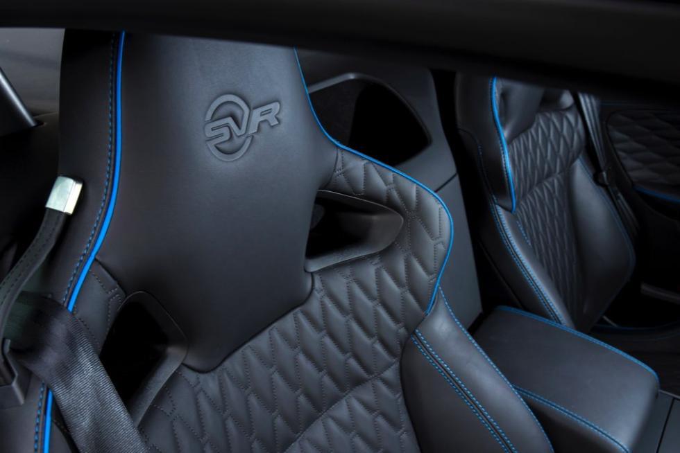 Jaguar F-Ttype SVR coupé 2016 asientos negro