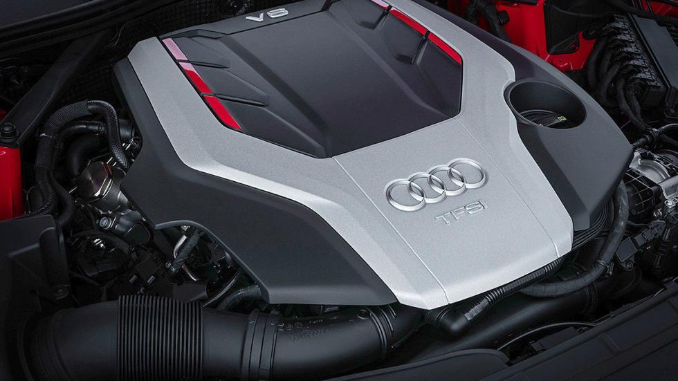 Audi A5 y S5 Coupé (2016) interior detalle motor