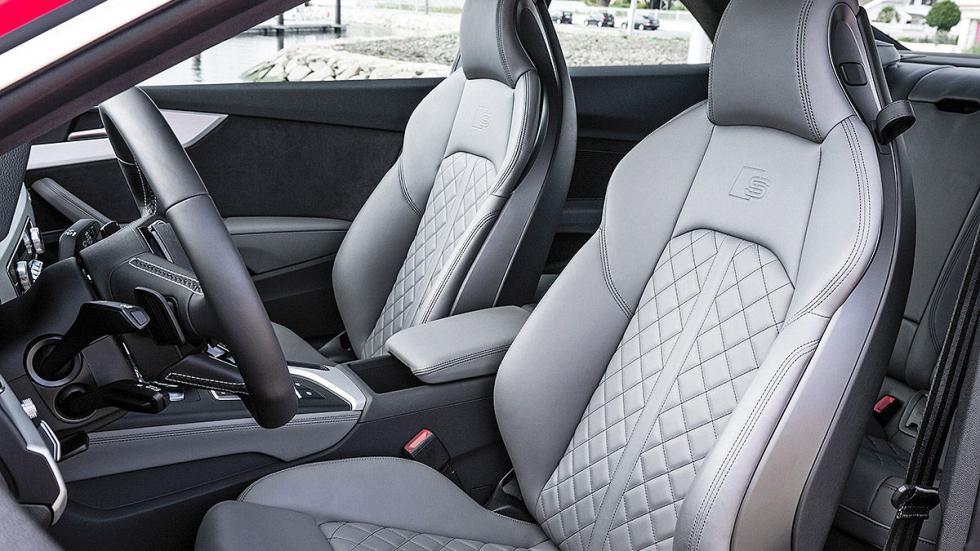 Audi A5 y S5 Coupé (2016) interior detalle asientos
