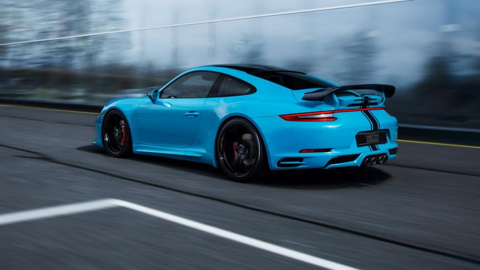 Porsche 911 Turbo S y Carrera S preparados por TechArt zaga