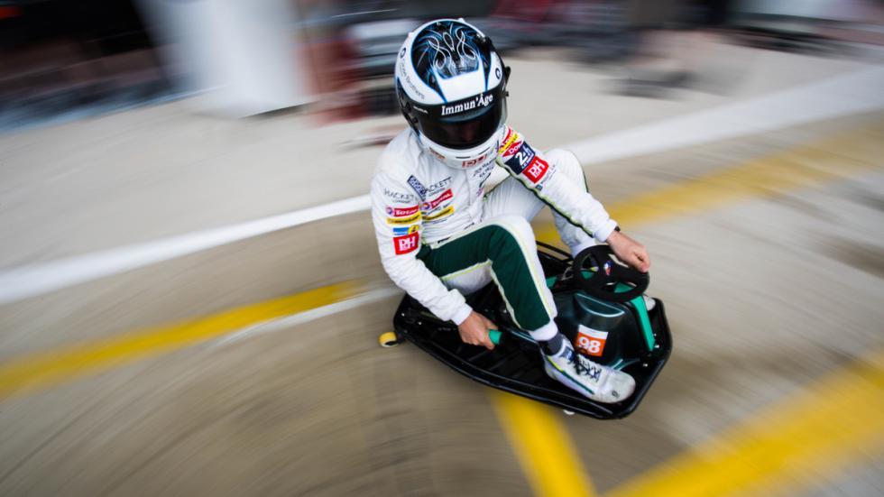 Aston Martin Razor Crazy Cart drift
