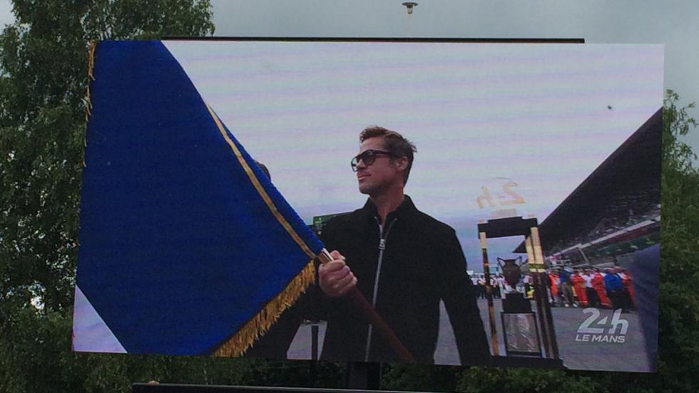 24 horas de Le Mans 2016, Brad Pitt
