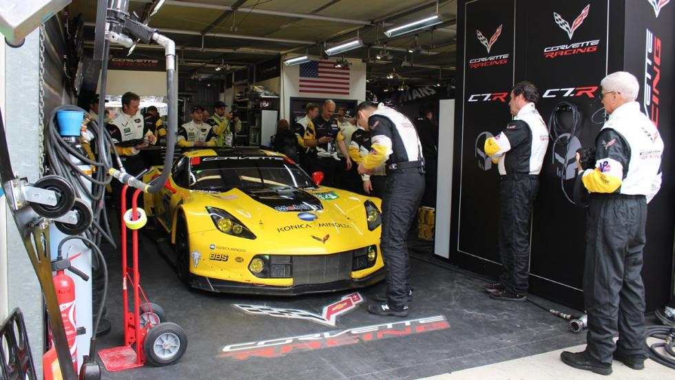 24 horas de Le Mans 2016, Corvette