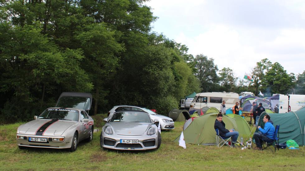 24 horas de Le Mans 2016, acampada Porsche