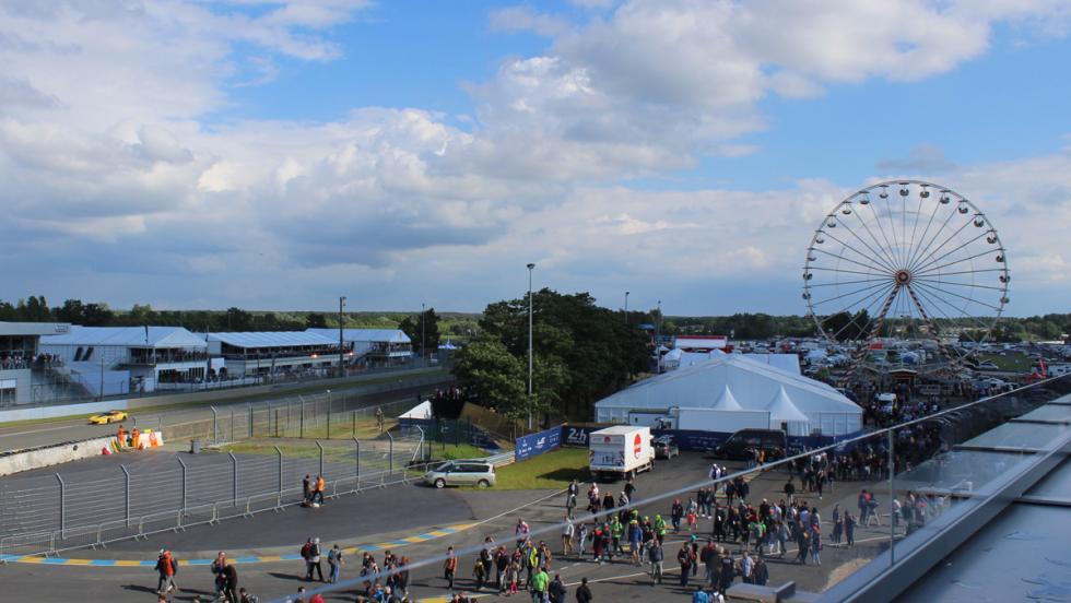 24 horas de Le Mans 2016, noria