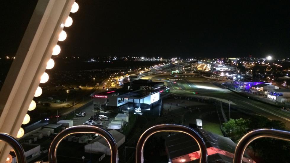 24 horas de Le Mans 2016, noria noche