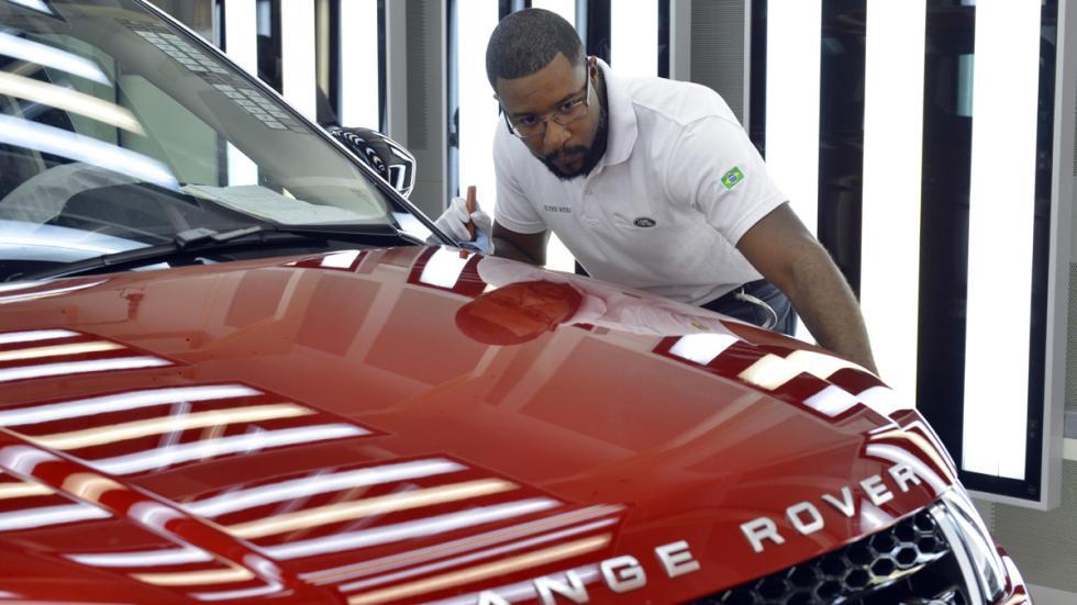 Jaguar Land Rover planta Brasil evoque