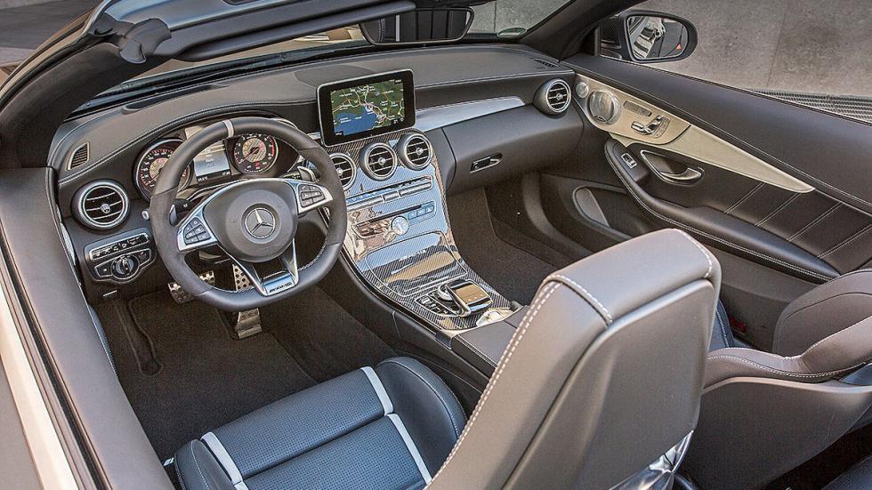 Mercedes AMG C 63 S Cabrio (2016) interior
