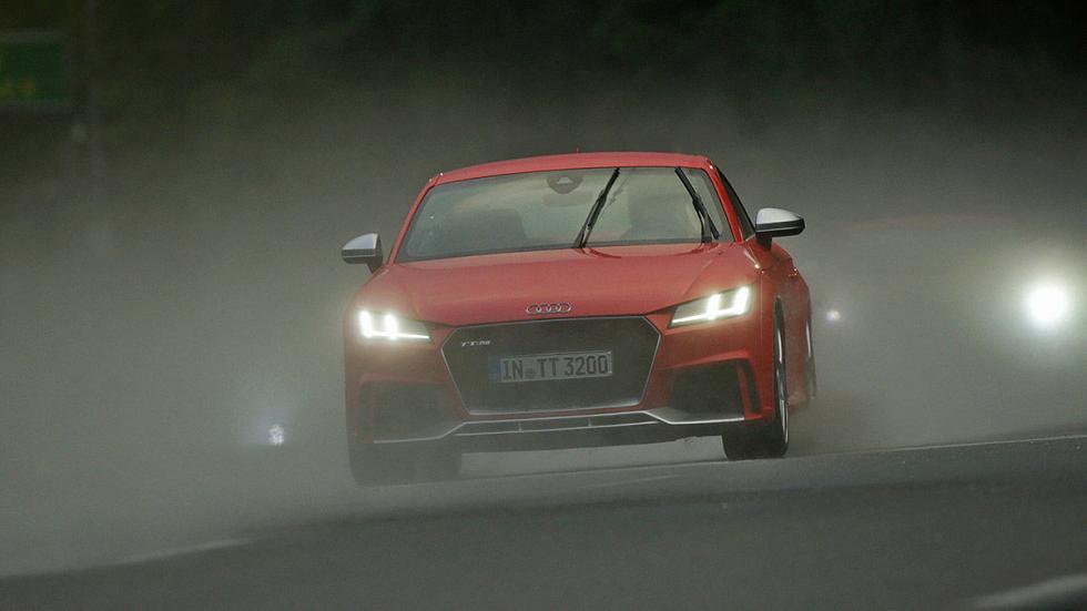 Prueba: Audi TT RS 2016 morro