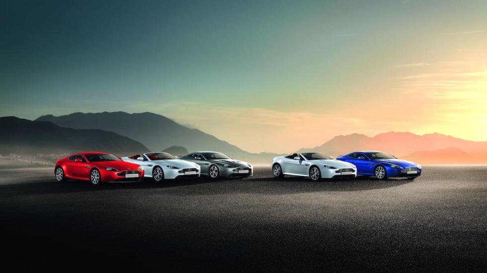 gama de Aston Martin