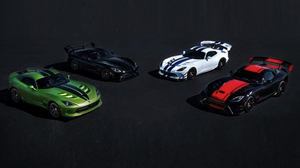 Ediciones especiales homenaje Dodge Viper