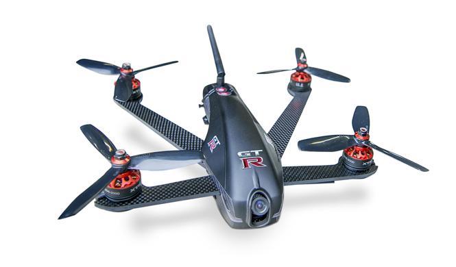 nissan gt-r drone presentacion es