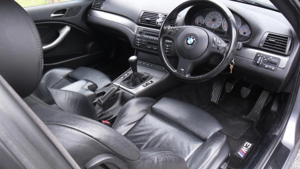 BMW E46 M3 V10 interior