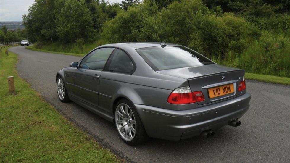 BMW E46 M3 V10 trasera