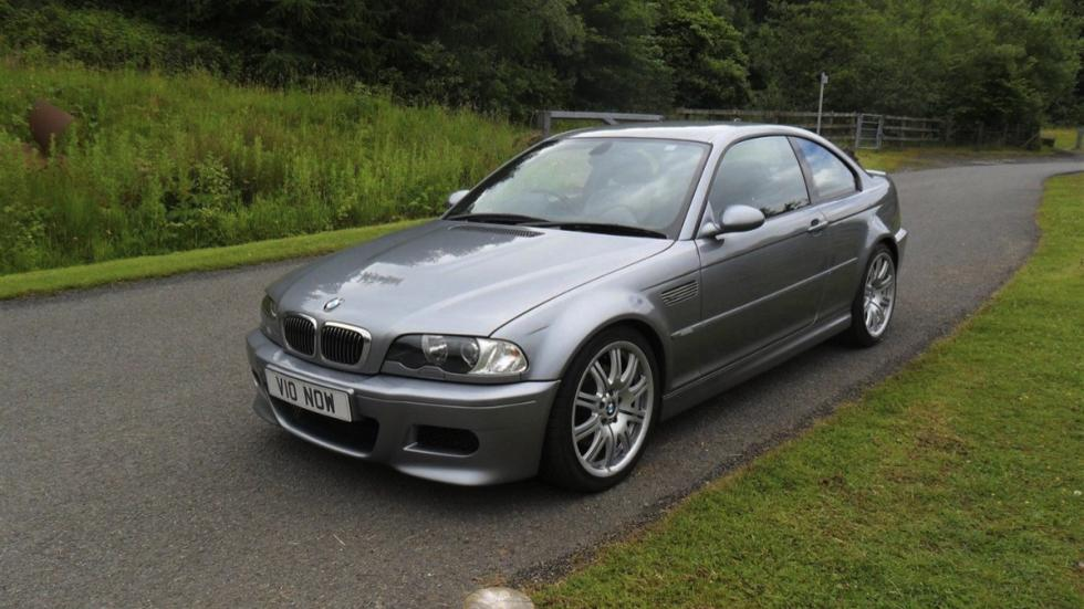 BMW E46 M3 V10 tres cuartos