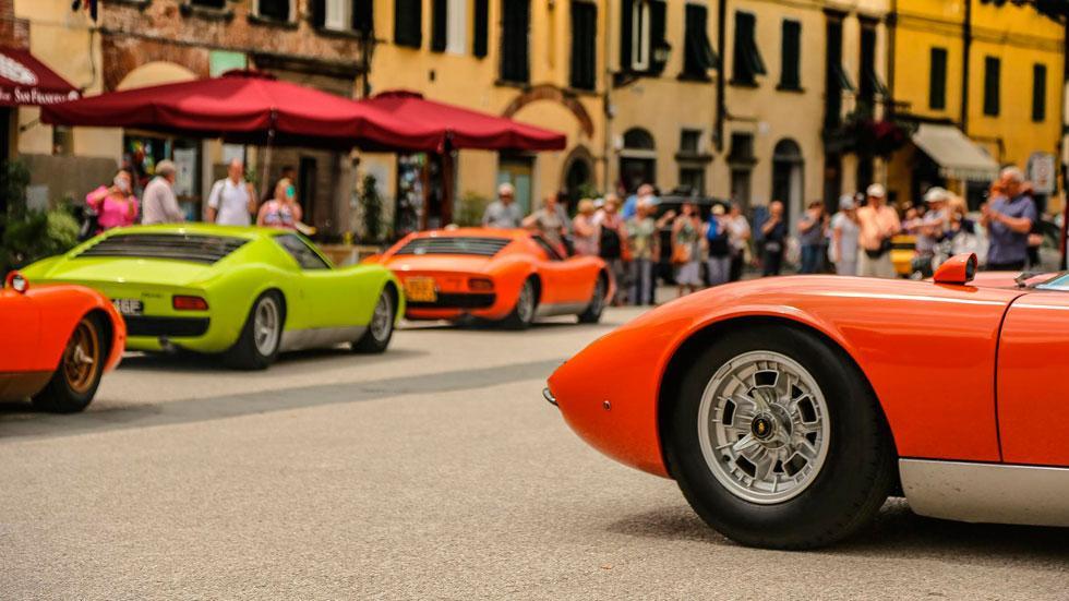 Lamborghini Miura Celebration Tour