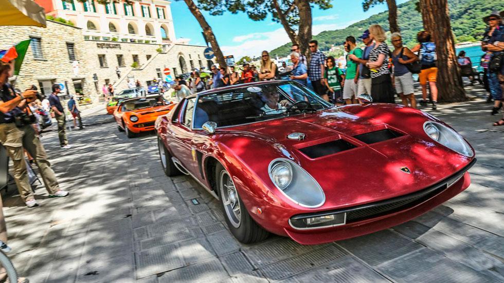 Lamborghini Miura Celebration Tour Jota