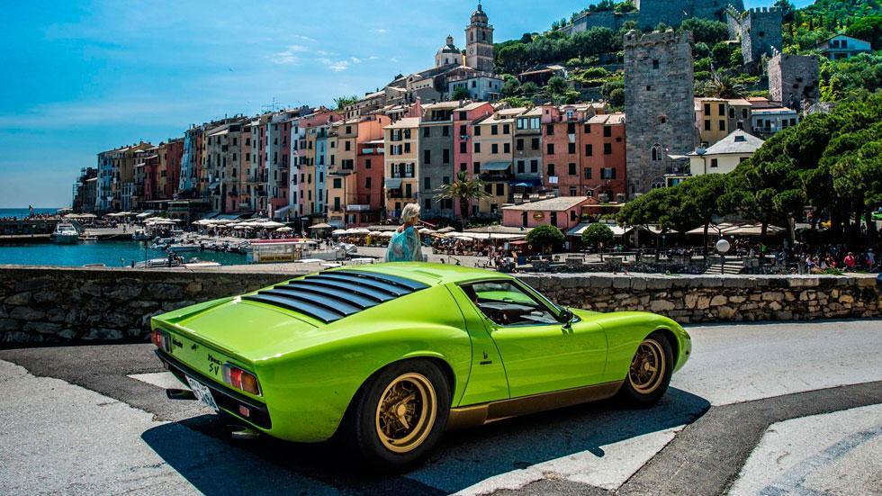 Lamborghini Miura Celebration Tour Verde