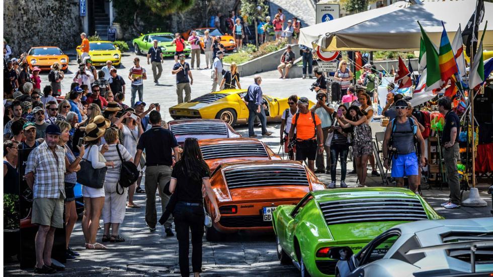 Lamborghini Miura Celebration Tour trasera