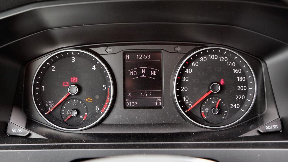 Volkswagen California cuadro mandos