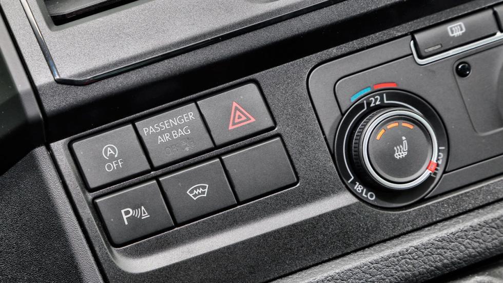 Volkswagen California botones