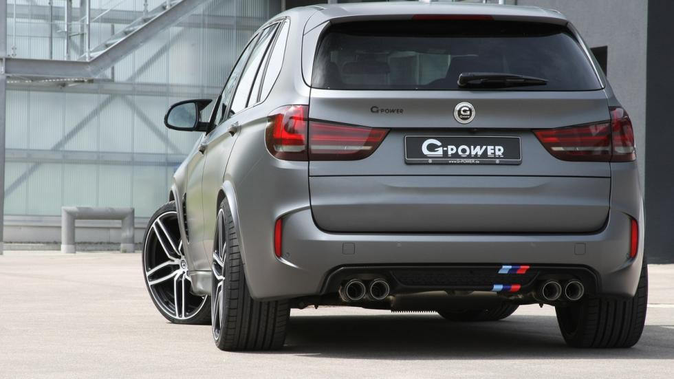 BMW X5 M G-Power trasera