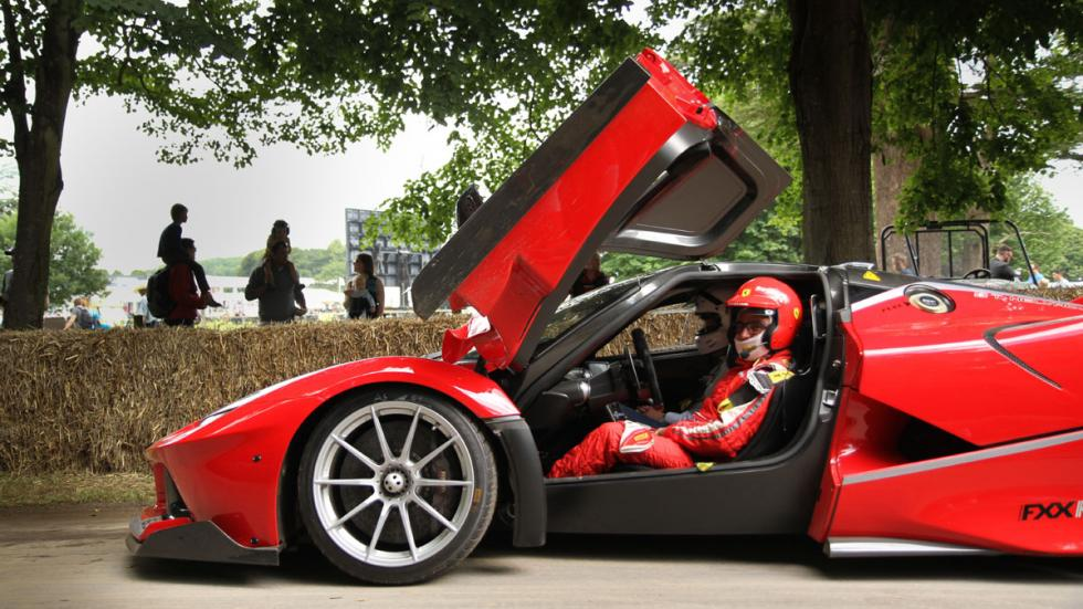 mejores-superdeportivos-festival-velocidad-Goodwood-2016-ferrari-fxx-k-lateral