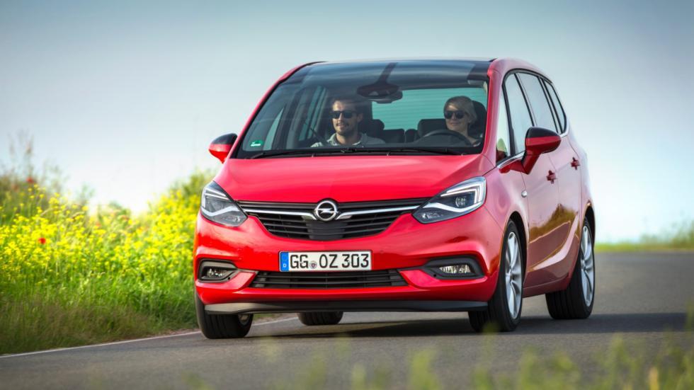 Opel Zafira 2016 frontal