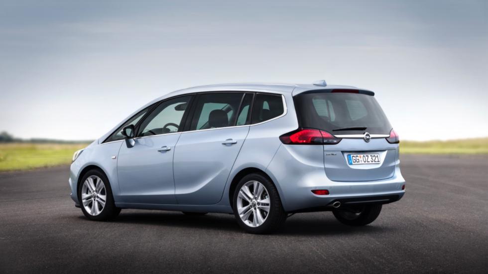 Opel Zafira 2016 lateral