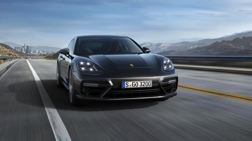 Porsche Panamera 2016 frontal