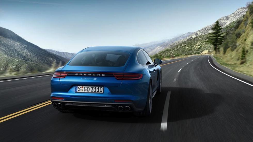 Porsche Panamera 4s 2016 dinamica