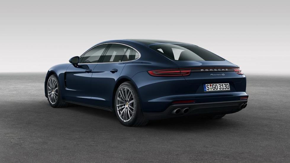 Porsche Panamera 4s 2016 trasera
