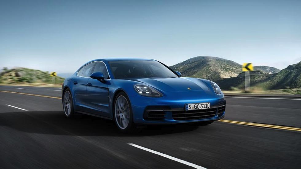 Porsche Panamera 4s 2016 frontal