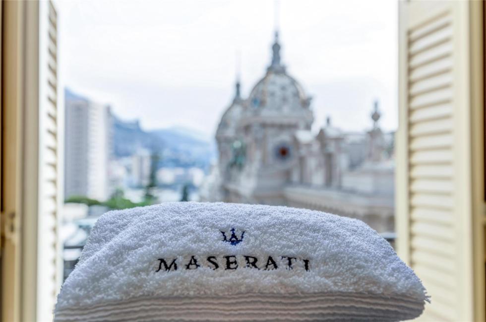 La habitación de lujo de Maserati 2
