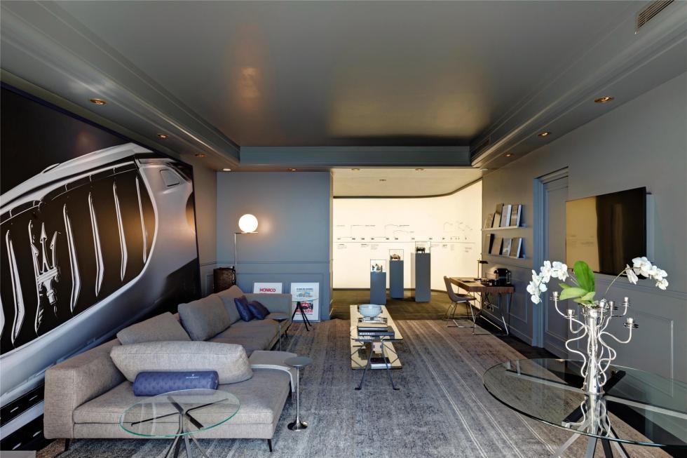La habitación de lujo de Maserati 5