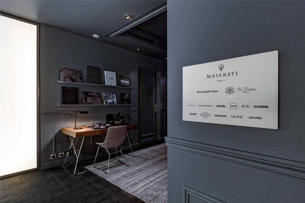 La habitación de lujo de Maserati 7