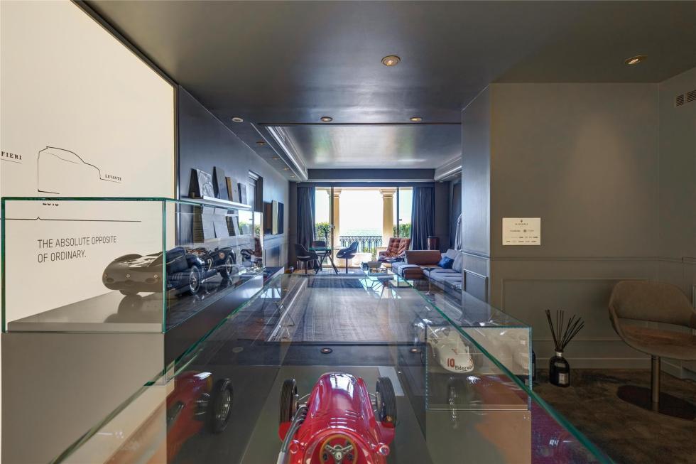 La habitación de lujo de Maserati 9