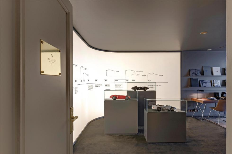 La habitación de lujo de Maserati 14