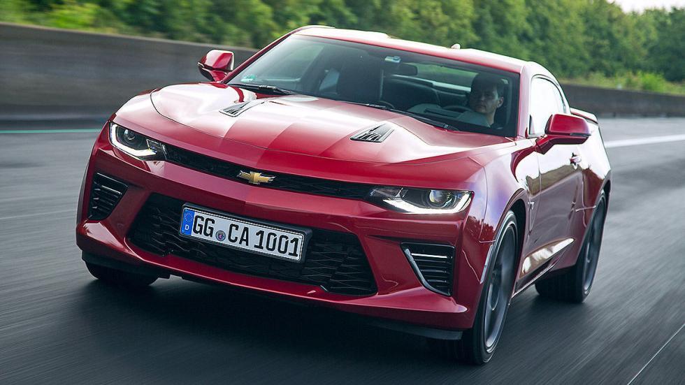 Prueba: Chevrolet Camaro V8 (versión europea)